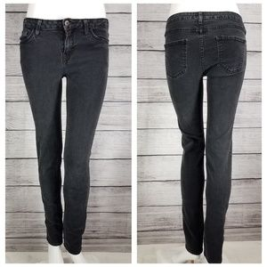 Just Black Super Skinny Jeans Distressed 30